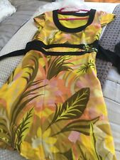 Karen Millen Dragon Fly Summer Dress 16 Stunning