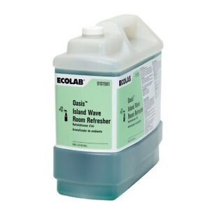 Ecolab 6101981 Oasis Island Wave Room Refresher Air Deodorizer- 2.5 Gallon
