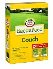 Scotts Lawn Builder SEED & FEED COUCH 1.4kg, Grass Seed+Starter Fertiliser