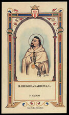 santino-holy card B.DIEGO DA NARBONA mercedario