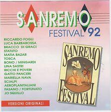 Sanremo Festival 1992 ( EMI ITALIANA S.p.A. – 7990022 )