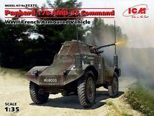 Panhard 178 commande AMD-35 voiture blindée (armée française 1940 marquages) 1/35 icm