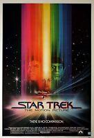 Framed Print - Star Trek 1 The Motion Picture Movie Poster (Enterprise Voyager)