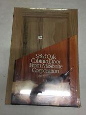 "New (Old Stock) Solid Oak Cabinet Door 18""x12.5""X.75"", Masonite Corporation"