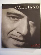 (Mode, Haute-Couture) GALLIANO / Colin McDowell / éd.Cassell - 2001 (en anglais)
