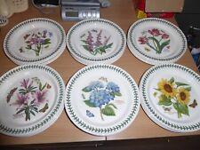 BNWT Portmeirion Botanic Garden 6 dinner plates