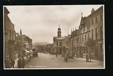 Somerset CHARD Fore St busy street scene c1920s? RP PPC