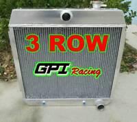 1955 56 57 ALUMINUM RADIATOR CHEVY BEL AIR V8 W/COOLER