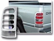 94-01 Dodge Ram 1500 ABS Chrome Tail Light Bezels Trims Trim