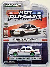 Greenlight Hot Pursuit 21: Ford Crown Victoria Atlanta Police - Green Machine