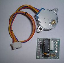 Small geared stepper motor + driver card UK stock