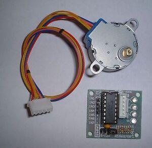 Small geared stepper motor + driver card UK Seller