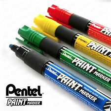 Pentel Cellulose Paint Marker - Med - MMP20 - 4 Pen Set - Red, Yel, Green, Blue