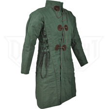 18th Century Medieval Gambeson Reenactment Amazing Green Color Fancy Style