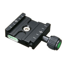 QR-50 Quick Release Plate Clamp Mount Compatible For Arca SWISS Tripod Ball Head