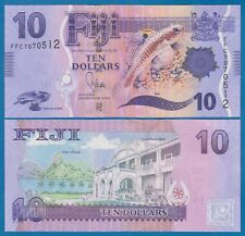 FIJI 10 Dollars P 116 (ND 2013) UNC Low Shipping! Combine FREE! (P-116a)