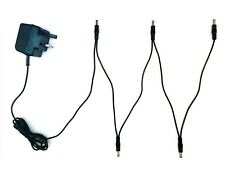 More details for 9v guitar effects pedal power supply adapter & 5 way daisy chain for behringer