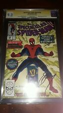 Signed SPECTACULAR SPIDER-MAN 158 CGC SS 9.2 Gerry Conway 1st Cosmic Powers