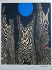 """Max Ernst- Bois et la Lune Bleue """"The Trees and the Blue Moon 10/200 SIGNED"""