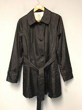 Dress Barn db Black and White Polka Dot Windbreaker Jacket Size L NWT Msrp:$64