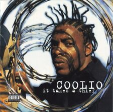 COOLIO  It Takes A Thief  Explicit Lyrics  promo CD  1994  Tommy Boy TBCD 1083