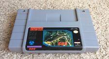 SOS S.O.S. (Super Nintendo Entertainment System) Rare SNES Authentic
