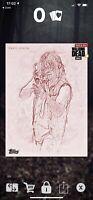 Topps TWD Walking Dead Daryl Dixon Sketch Award 1cc