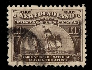 #68 Newfoundland Canada used well centered