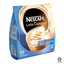 **OFFER!!**NESCAFE LATTE 3 IN 1 CARAMEL - INSTANT COFFEE **FREE SHIPPING**