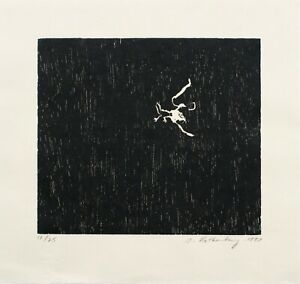 Susan Rothenberg: Kissing the Bird, 1993. Signed, Numbered, Fine Art Print