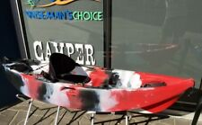 Sit on Top Fishing Kayak ,Children's ,Paddle & seat back included great colours