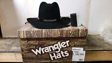 Wrangler Western Cowboy Black Hat 7 1/8 W87462770