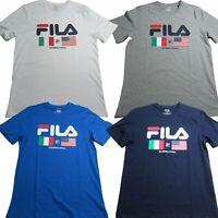 Fila Mens International Tee Short Sleeve T-Shirt