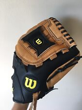 "Wilson 12"" AO36012 A360 Leather Baseball Glove Right Hand Throw Mit"