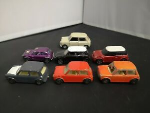 B760-MATCHBOX SUPERFAST,MAISTO AND OTHER LOT OF SEVEN MINI'S