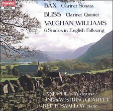 Bax: Clarinet Sonata; Bliss: Clarinet Quintet; Vaughan Williams: 6 Studies in En