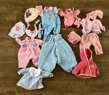 "16 - 18"" Battat Bitty Baby doll American Girl zapf compatible clothing lot 12 pc"