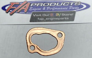 SMALL Block Chevrolet 283 327 350 383 400 Soft Copper Oil Pump Mounting Gasket