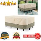 Patio Furniture Cover Waterproof Table Chair Outdoor Set Cover Rectangular Large