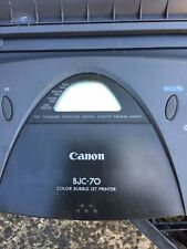 Canon BJC-70 InkJet Printer