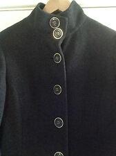 Beautiful Ladies' Long Wool Grey Coat, size 8 tall