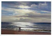 "DUNCAN PALMAR ""Sparkling Seas II"" beach SIGNED LTD ED! SIZE:29cm x 37cm NEW RARE"