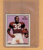 JIM BROWN '66 CLEVELAND BROWNS FOOTBALL HOFER RARE NYC CAB CARD