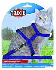 Trixie Nylon Cat Harness And Lead Set Collar Adjustable 4185