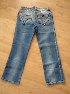 MISS SIXTY Jeans Women's Distressed Denim - Size 31