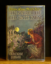 VINTAGE NANCY DREW - Secret of Red Gate Farm - w/ DJ -  Very Early Printing