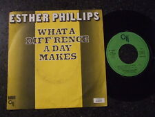 70's - ESTHER PHILLIPS - WHAT A DIFF'RENCE A DAY MAKES - FRENCH CTI - LISTEN