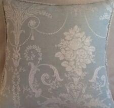 A 16 Inch cushion Cover In Laura Ashley Josette Duck Egg fabric