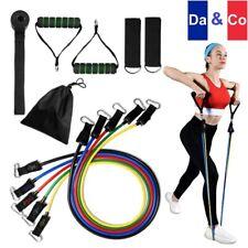 Élastiques de Musculation Bandes de Résistance Premium Fitness Crossfit Pilates