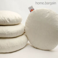 Pack of 10 Round Duck Feather Cushion Pad Insert Filler